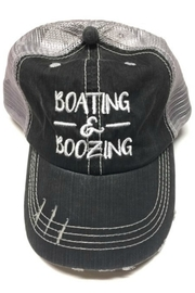 Imagine That Boating Boozing Hat - Front cropped