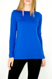 A'Nue Ligne Boatneck Longsleeve Top - Product Mini Image
