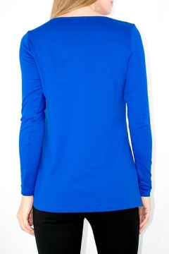 A'Nue Ligne Boatneck Longsleeve Top - Alternate List Image