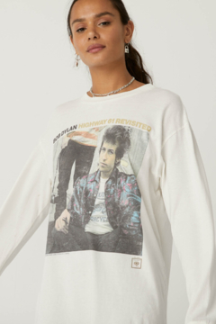 Daydreamer Bob Dylan Highway 61 Oversized Long Sleeve - Alternate List Image