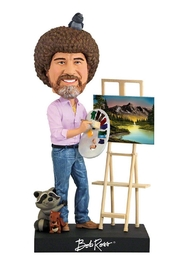 Royal Bobbles Bob Ross Bobblehead - Product Mini Image