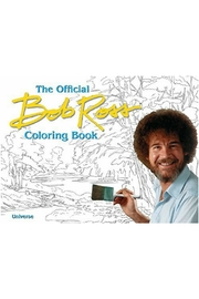Unemployed Philosophers Guild Bob Ross Coloring - Product Mini Image