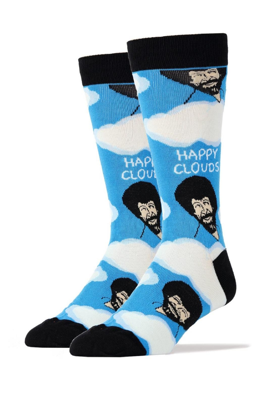 OOOH YEAH Bob Ross Socks - Main Image