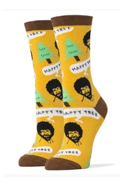 OOOH YEAH Bob Ross Socks - Product Mini Image