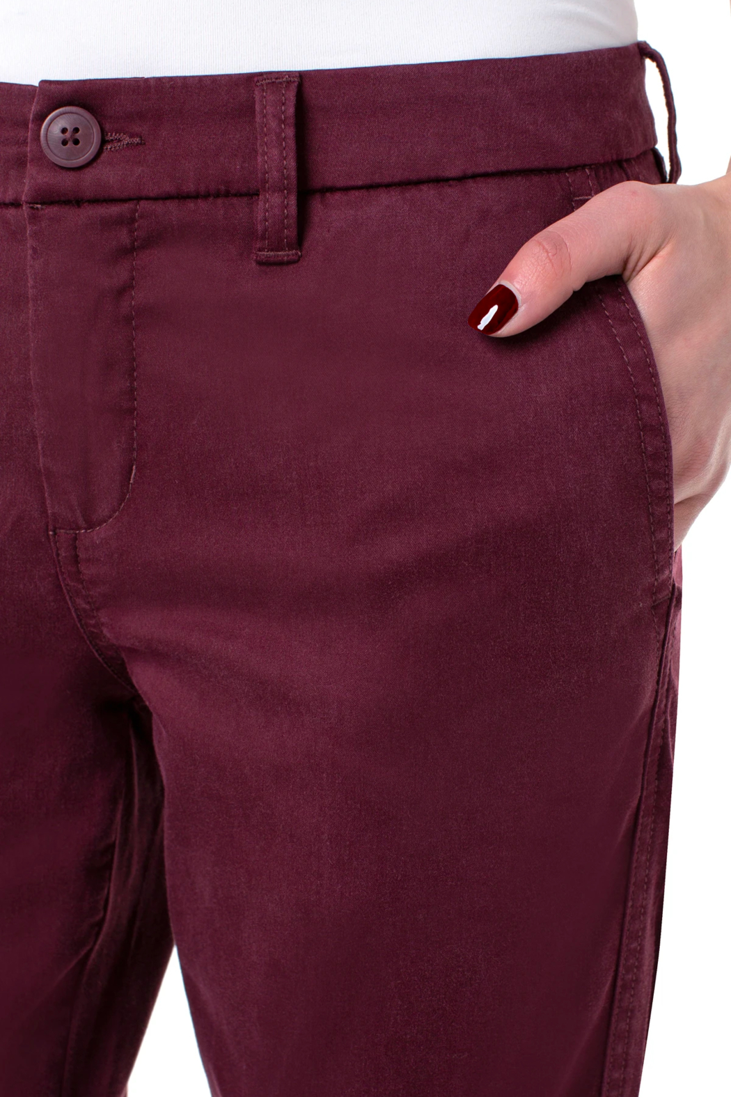 Liverpool Bobbie Trouser Pant - Side Cropped Image