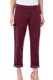 Liverpool Bobbie Trouser Pant - Back cropped