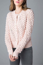 Kinross Cashmere Bobble Cardigan - Product Mini Image