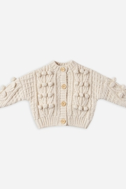 Rylee & Cru Bobble Cardigan - Front cropped