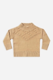 Rylee & Cru Bobble Sweater In Honey - Product Mini Image
