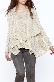 Bobeau Soft Beige Cardigan - Product Mini Image