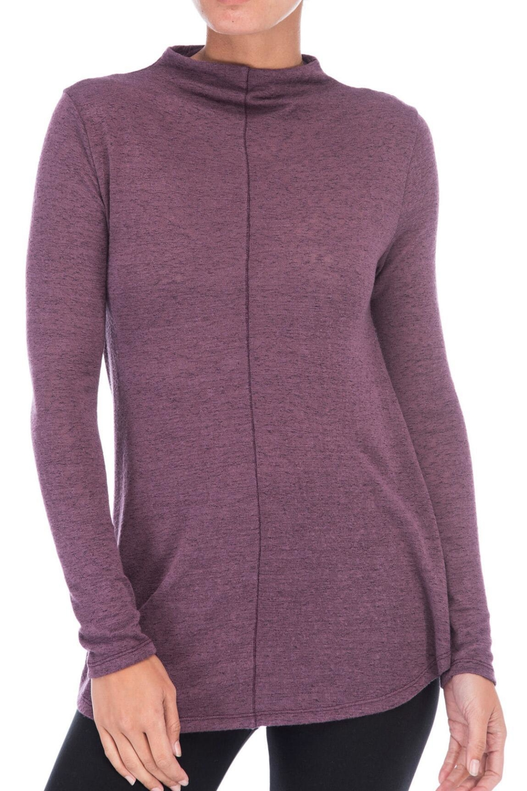 Bobeau Belle Mock Neck Sweater - Main Image