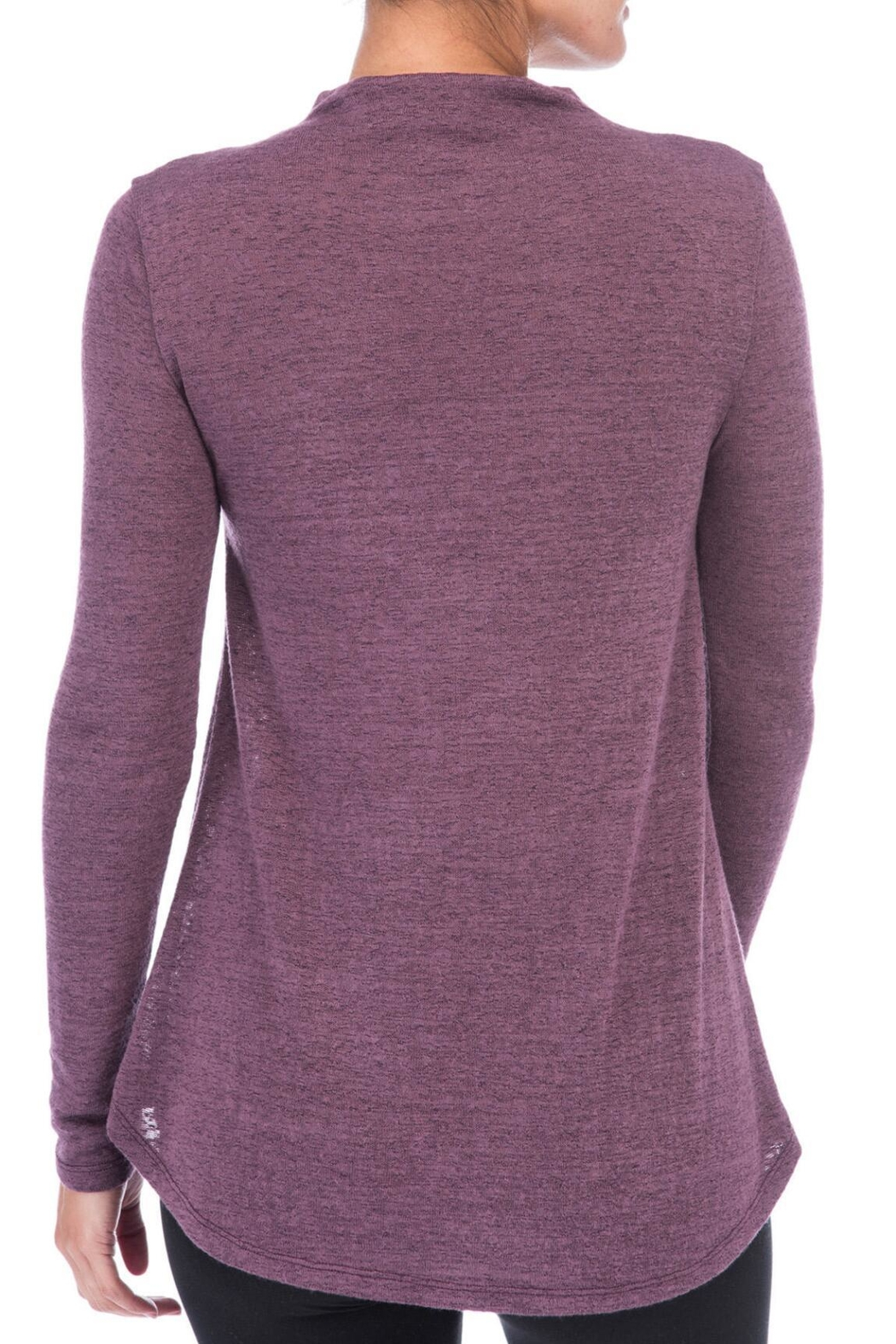 Bobeau Belle Mock Neck Sweater - Front Full Image