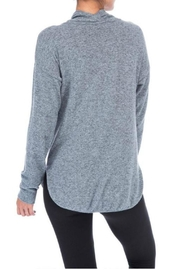 Bobeau Cowl Neck Top - Side cropped