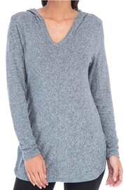 Bobeau Cozy Sweater Hoodie - Front cropped