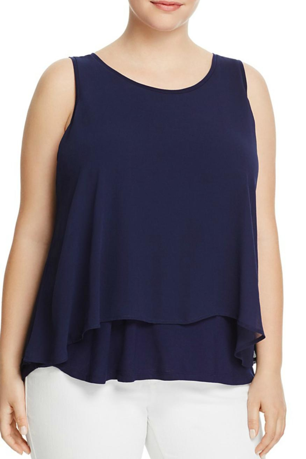 Bobeau Double Layer Tank Top - Front Cropped Image