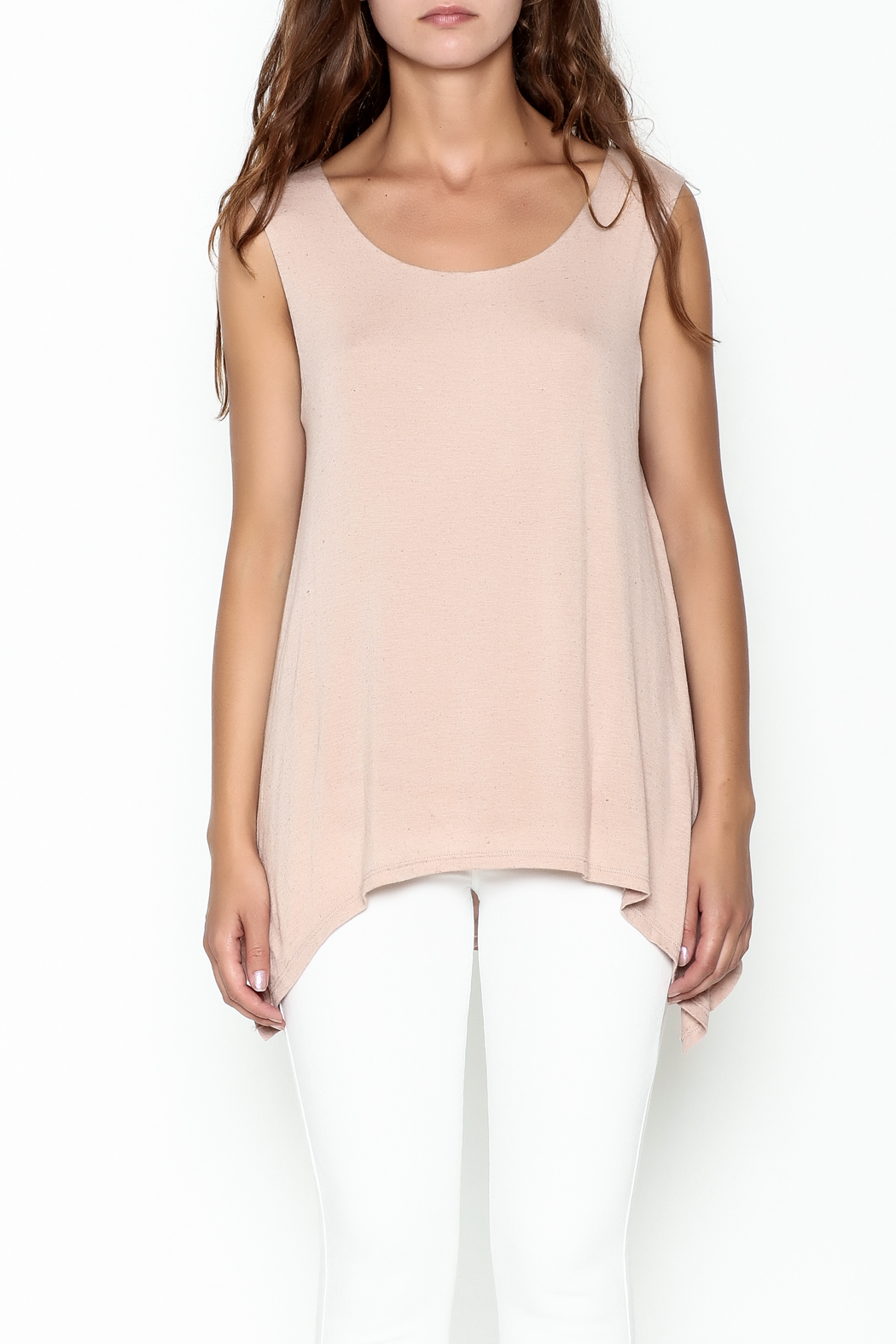 Bobeau George Double Layer Tank - Front Full Image