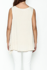 Bobeau George Double Layer Tank - Back cropped