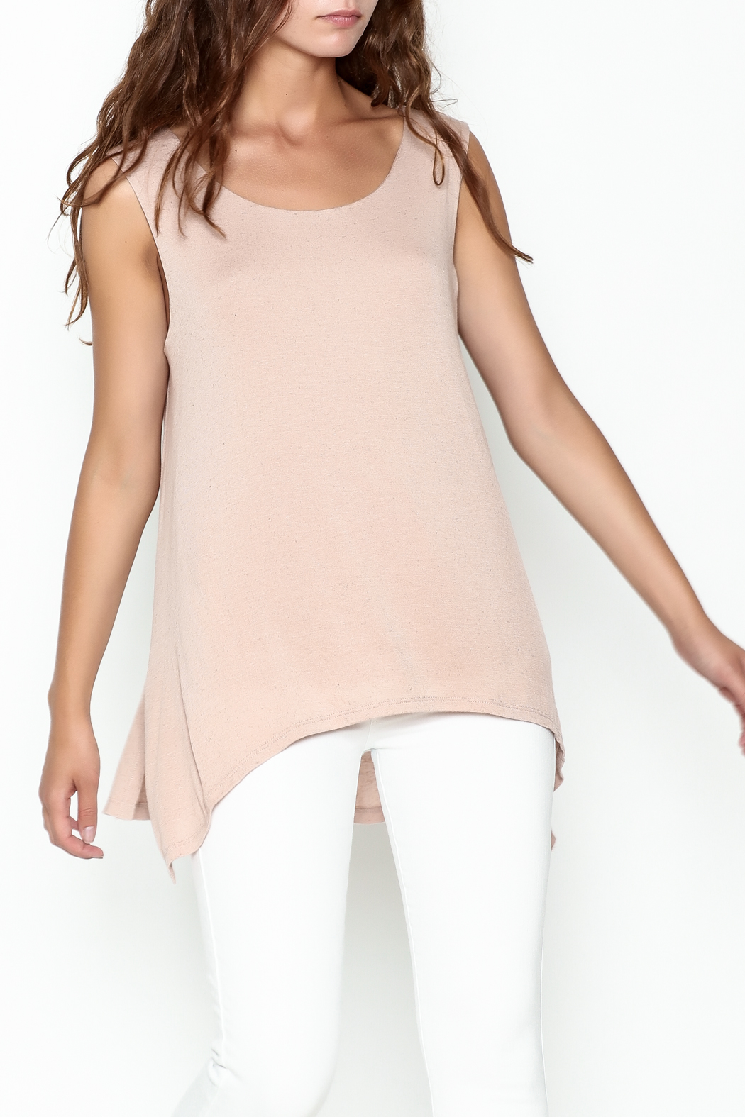 Bobeau George Double Layer Tank - Front Cropped Image