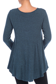 Bobeau Heavenly Soft Tunic - Front full body