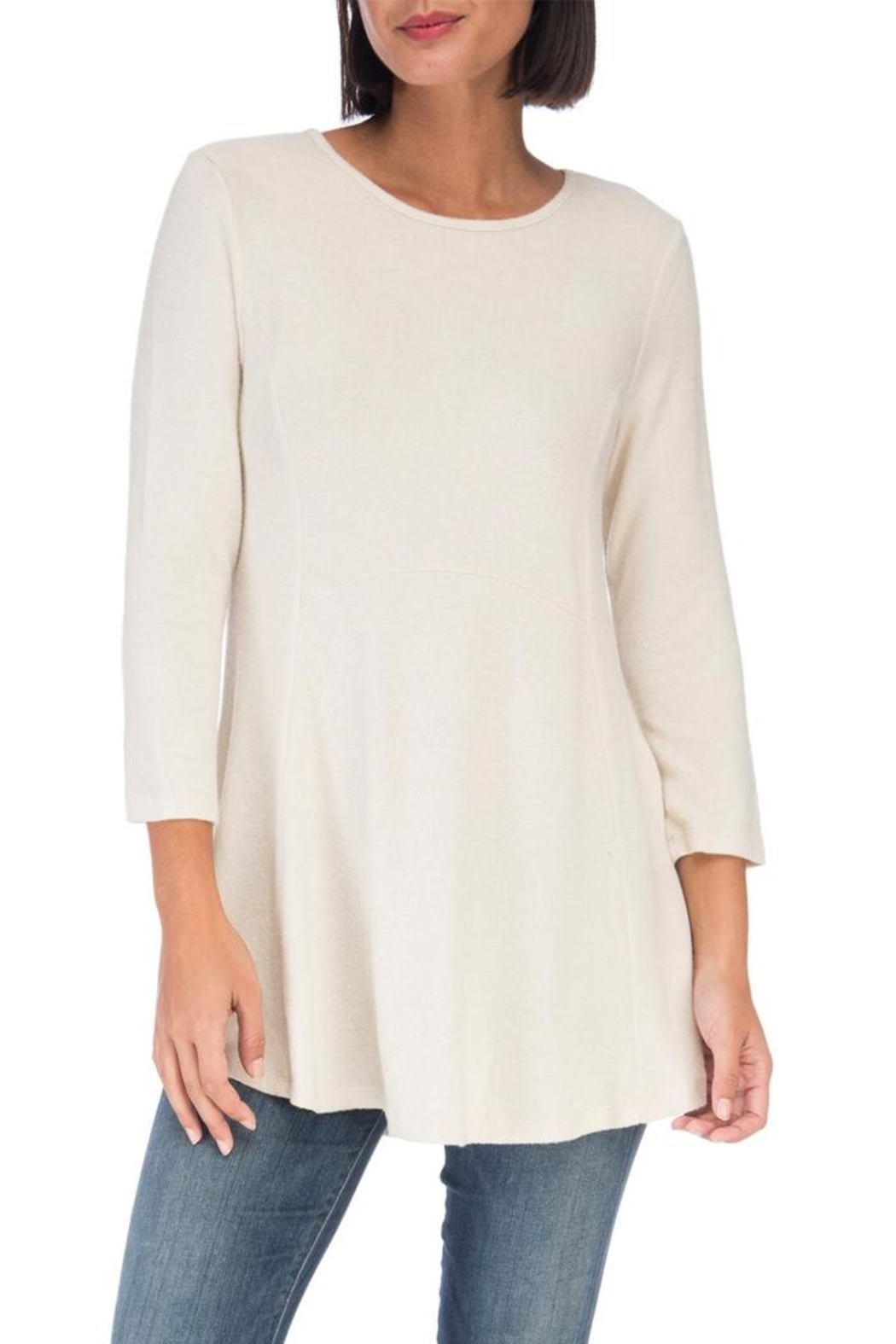 Bobeau Heavenly Soft Tunic - Front Cropped Image