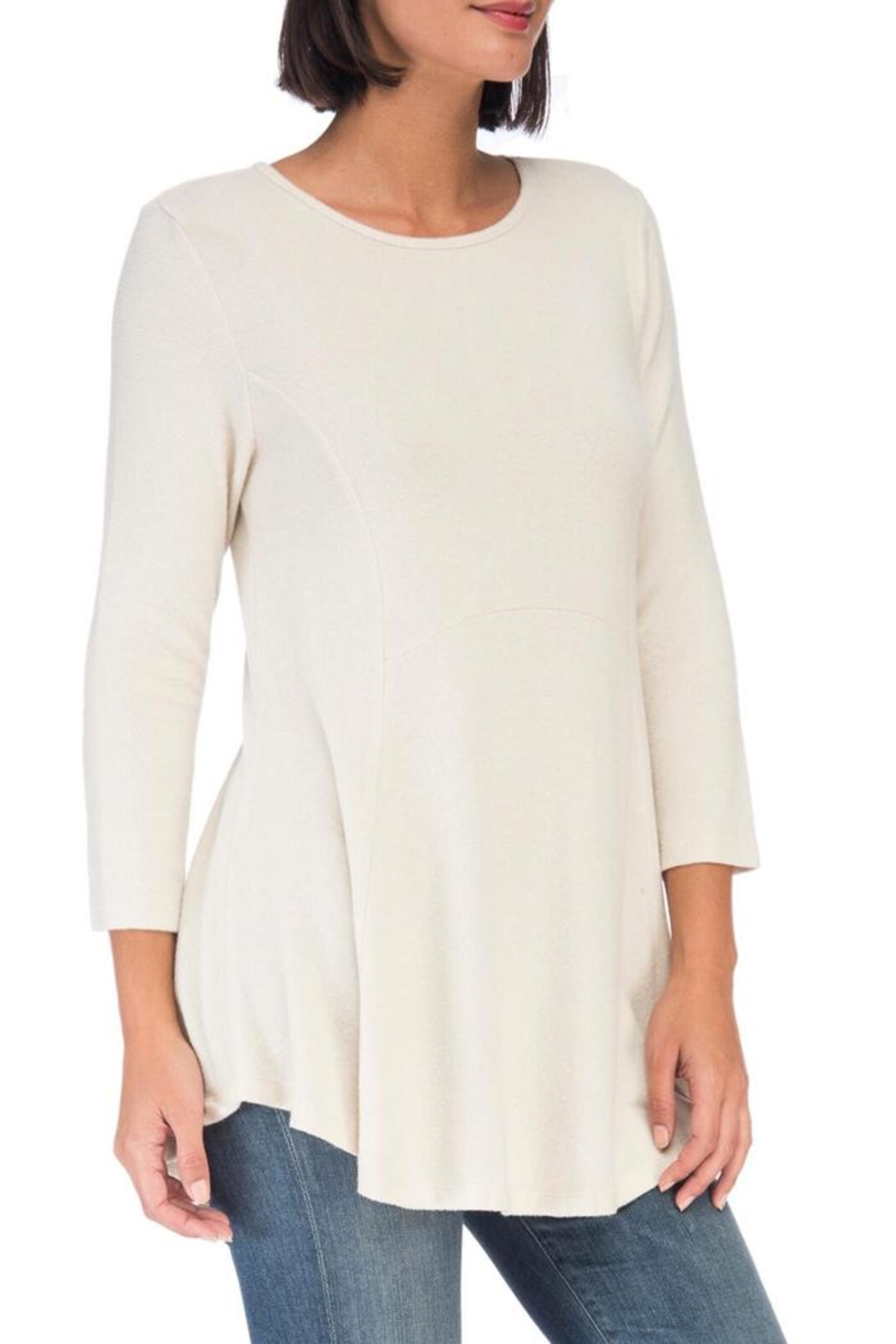 Bobeau Heavenly Soft Tunic - Side Cropped Image