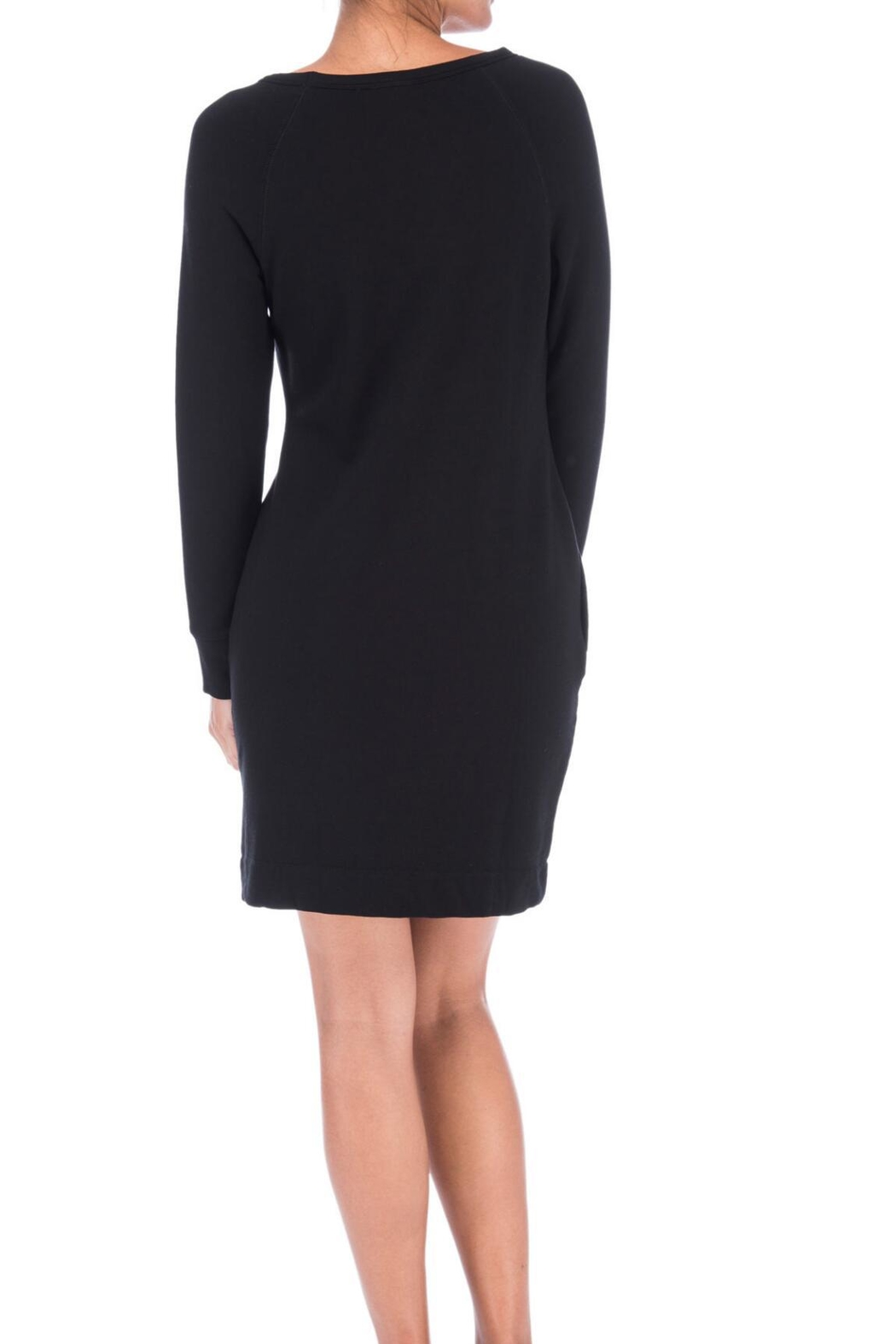 Bobeau Orson Sweatshirt Dress - Front Full Image