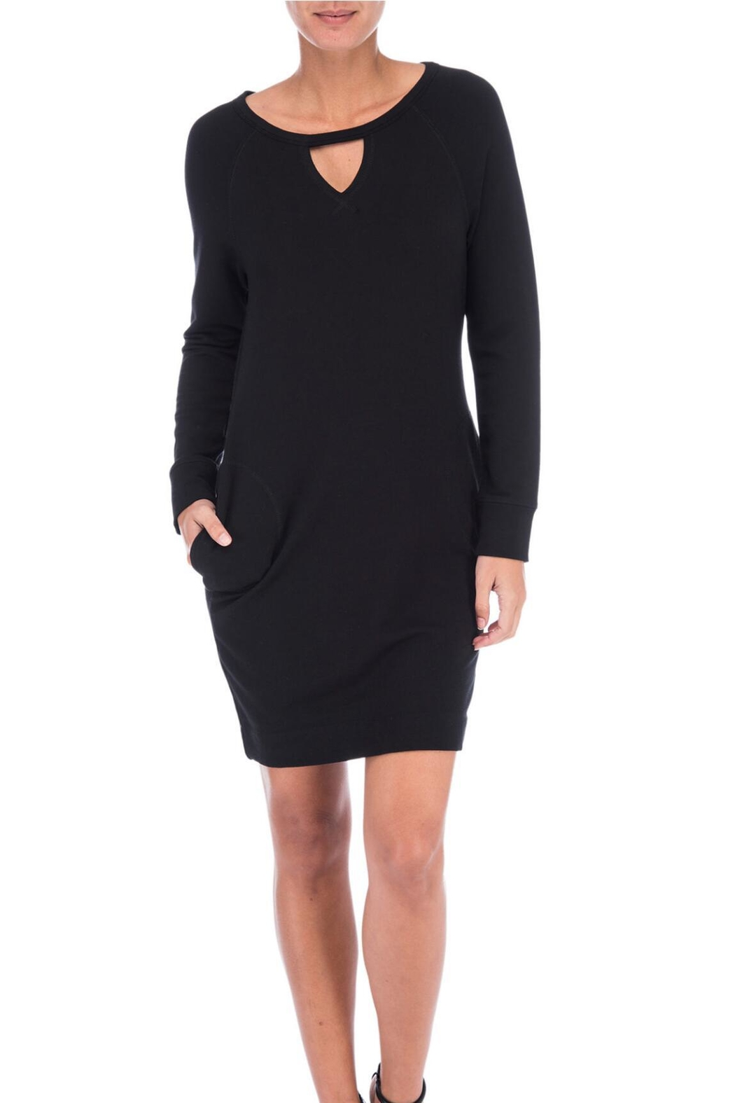 Bobeau Orson Sweatshirt Dress - Main Image