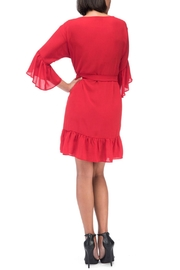 Bobeau Rio Apron Dress - Front full body
