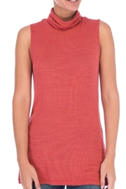 Bobeau Sloan Sleeveless Turtleneck Top - Product Mini Image