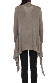 Bobeau Slouch Pocket Cardigan - Front full body