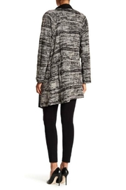 Bobeau Textured Micro Suede Coat - Front full body