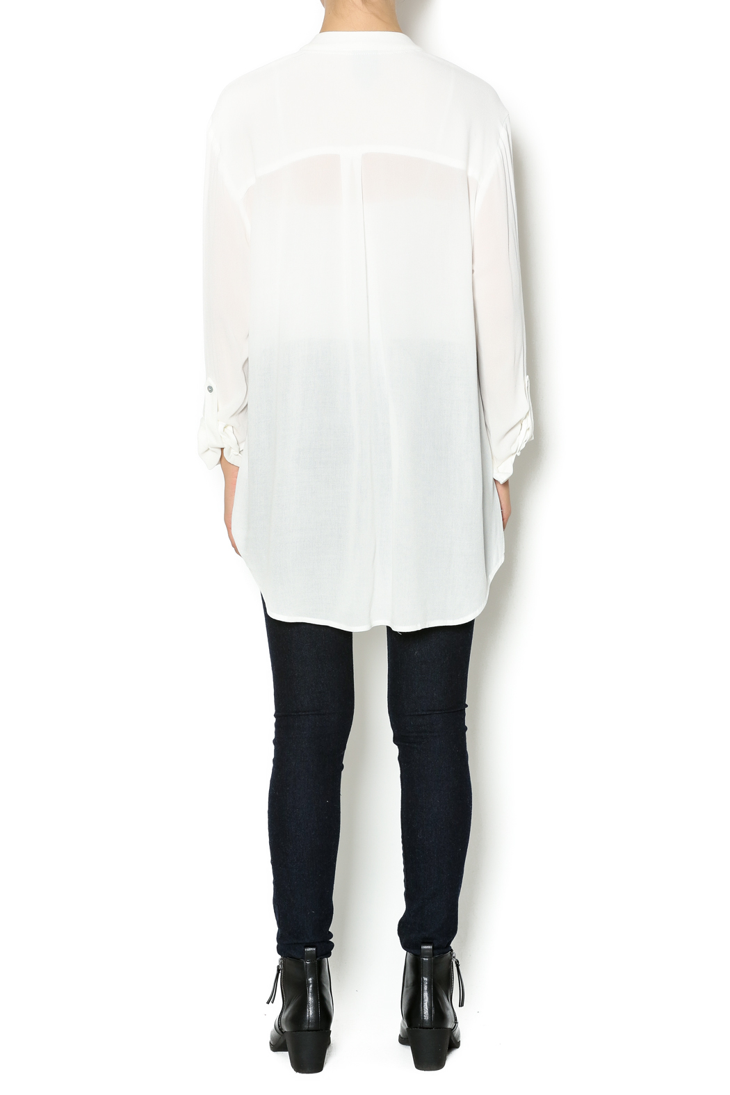 Bobeau White Tunic Blouse from Arkansas by Lois Gean's — Shoptiques