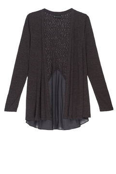 Shoptiques Product: Woven Back Cardigan
