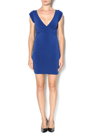 Shoptiques Product: V-Neck Surplice Dress - Front full body