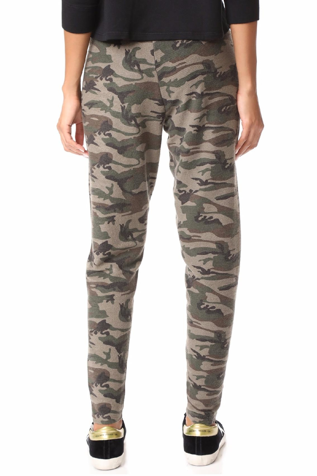 Bobi Camo Sweat Pants - Front Full Image