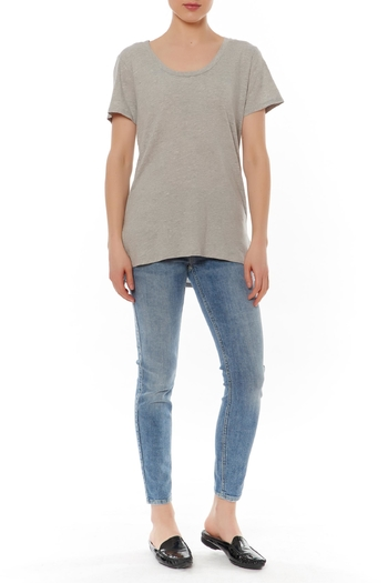 Shoptiques Product: Grey Basic Tee - main