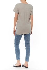 Shoptiques Product: Grey Basic Tee - Front full body