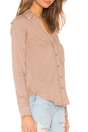 Bobi BOBI LIGHTWEIGHT JERSEY BUTTON DOWN - Front full body