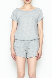 Bobi Los Angeles Grey Cowlback Romper - Product Mini Image