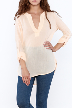 Shoptiques Product: Peach Tunic Top