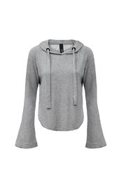 Bobi Los Angeles Bell Sleeve Cropped Hoodie - Product Mini Image