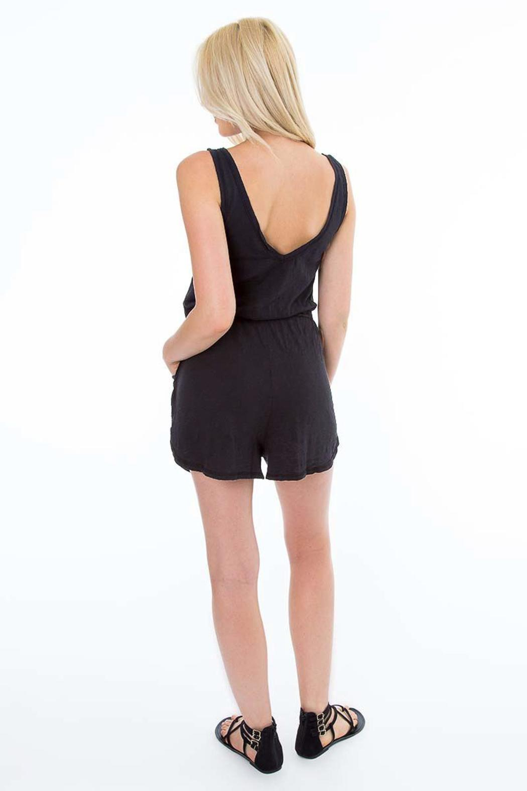7e81d5c8217 Bobi Los Angeles Black Tank Romper from California by Love   Whiskey ...