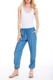 Bobi Los Angeles Chambray Jogger Pant - Product Mini Image