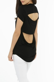 Bobi Los Angeles Cutout Back Tee - Front cropped