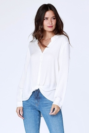 Bobi Los Angeles Knot Hem Buttonup - Product Mini Image