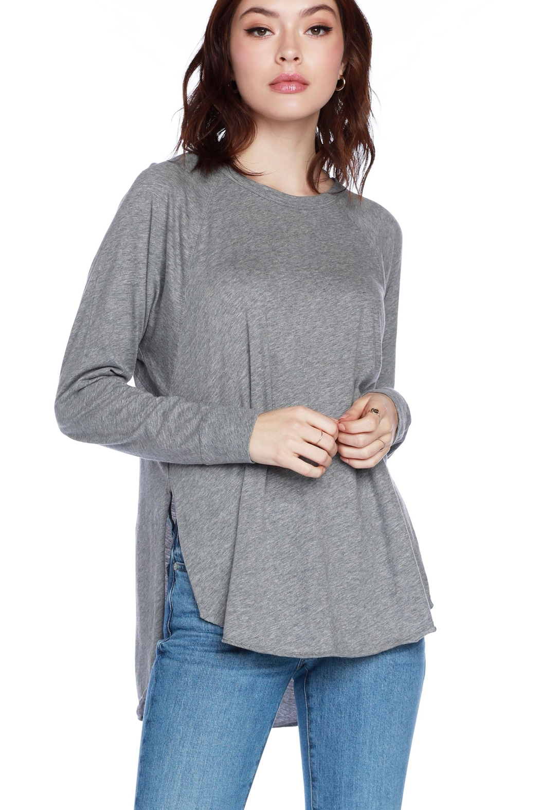 Bobi Los Angeles Raglan L/s Top - Main Image