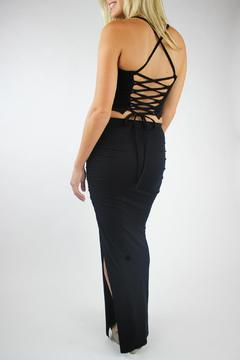 Shoptiques Product: Ruched Maxi Skirt