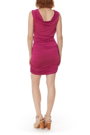 Bobi Los Angeles Shirred Side Dress - Back cropped