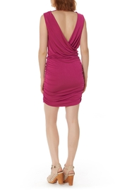 Bobi Los Angeles Shirred Side Dress - Front full body