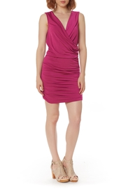 Bobi Los Angeles Shirred Side Dress - Side cropped